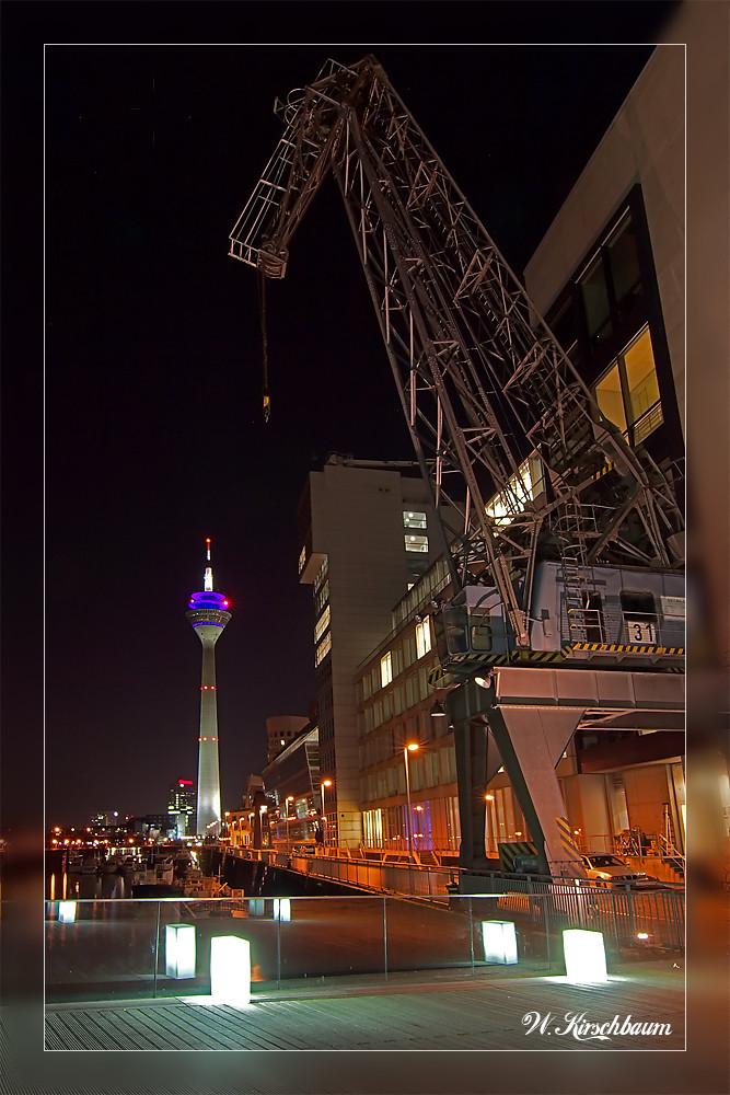 Im Düsseldorfer Medienhafen