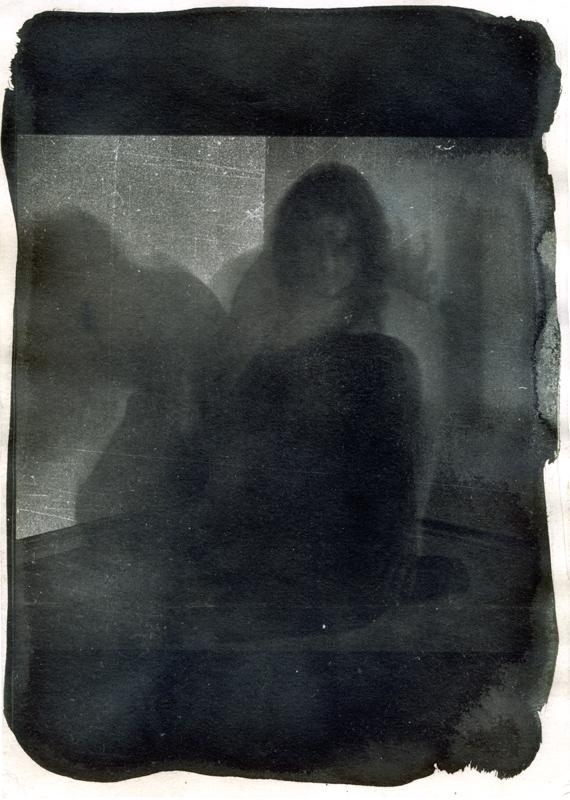 Im Dunkel eines sich bewegenden Körpers