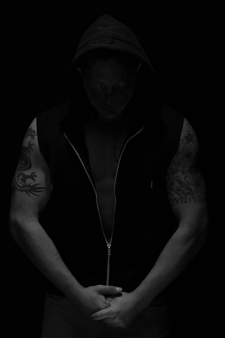 Im dunkeln....