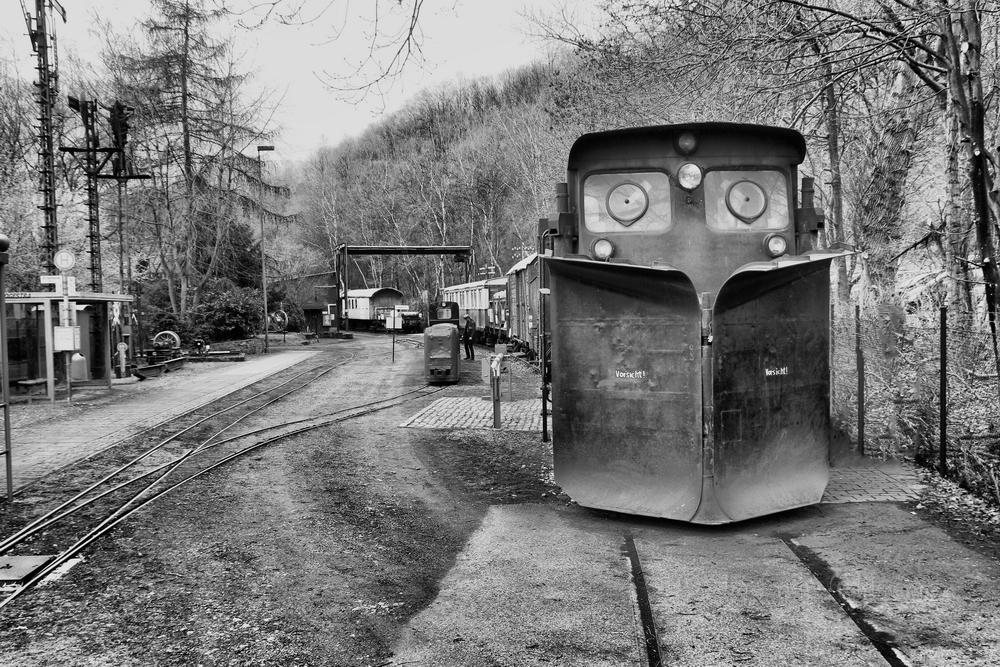 - im Eisenbahnmuseum Bochum * -