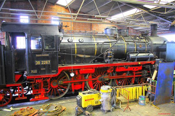 Im Eisenbahnmuseum Bochum - Dahlhausen