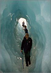 Im Eistunnel