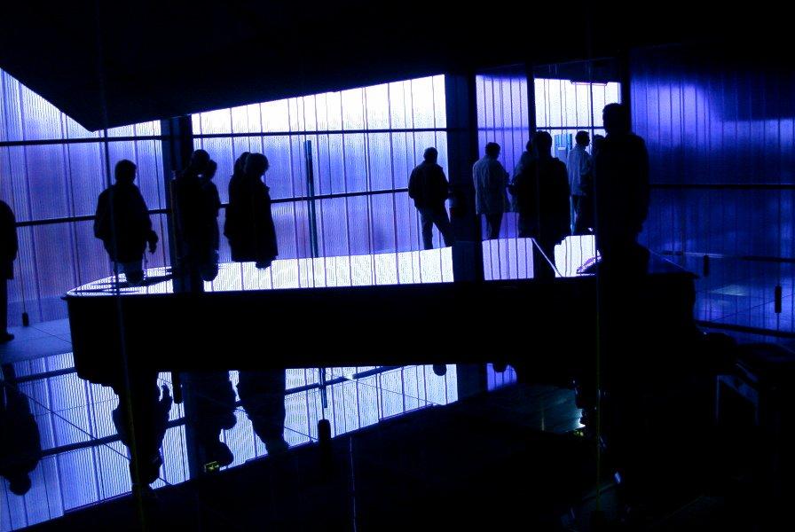 Im Expo2000-Pavillion von Lettland