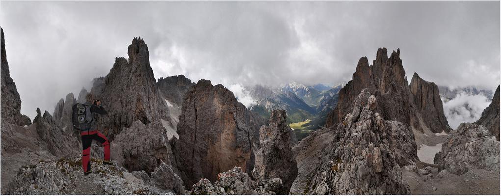 Im Felsenmeer der Cadinispitzen