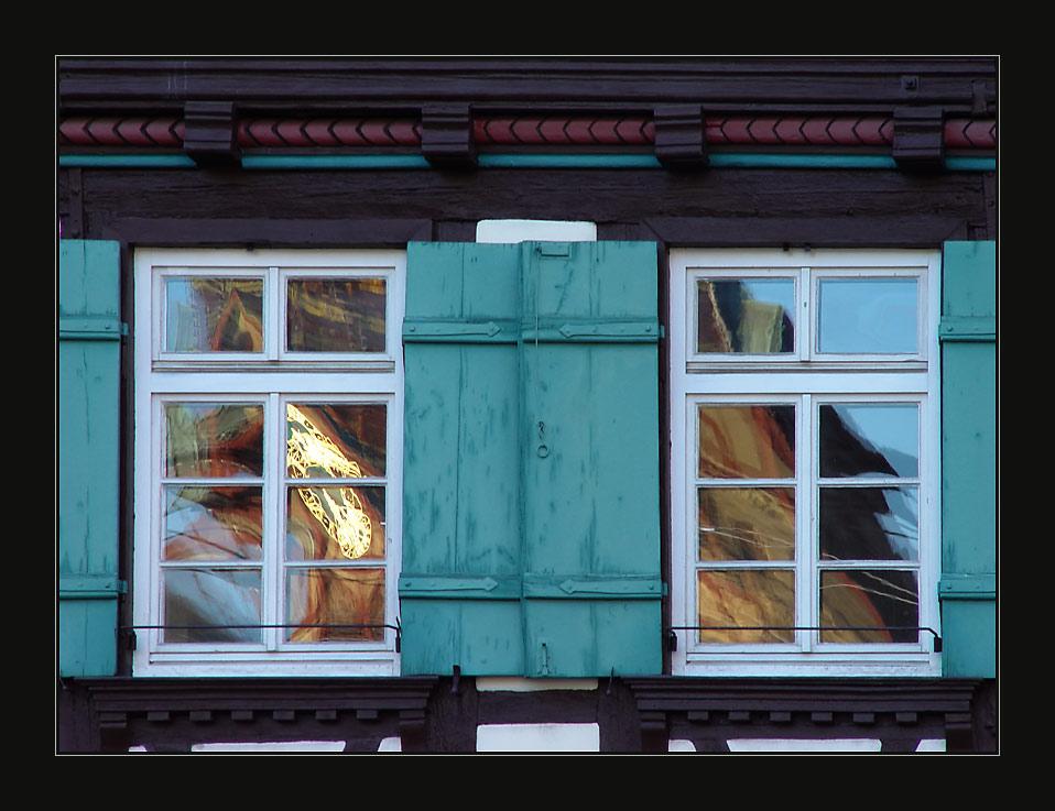 im Fenster der Zeit