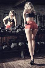 Im Fitnessstudio_:::\::