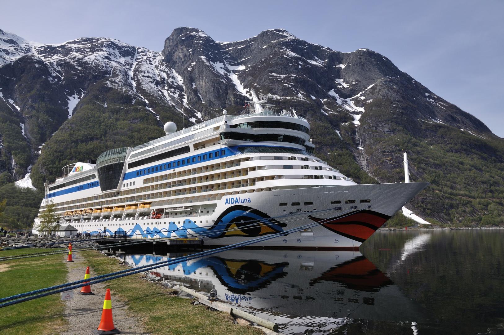 Im Fjord!