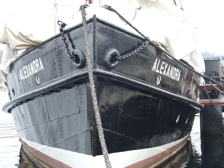 im Flensburger Hafen
