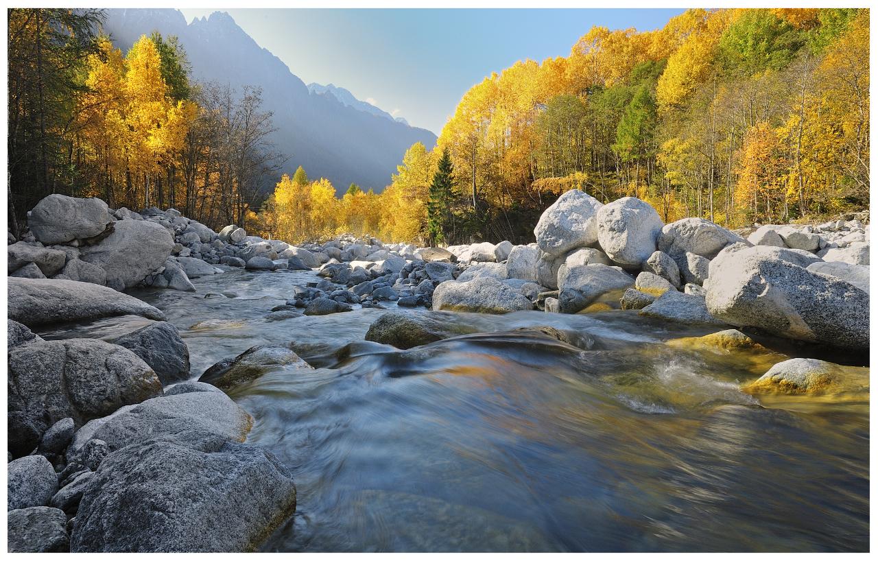 im Fluss.......