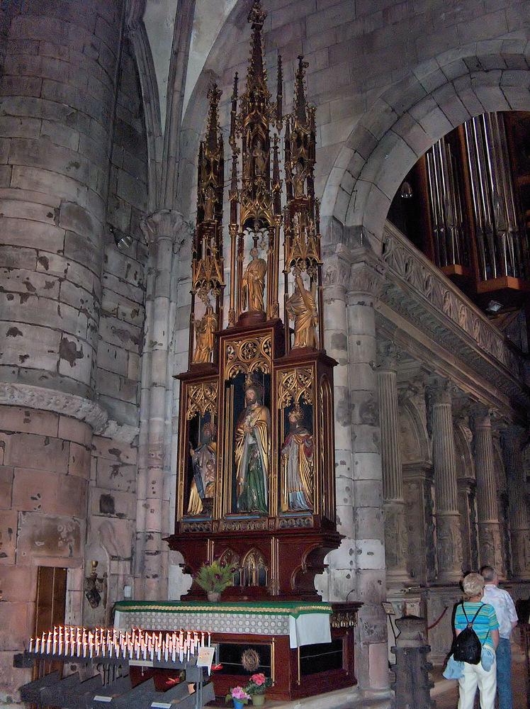 Im Freiburger Münster*