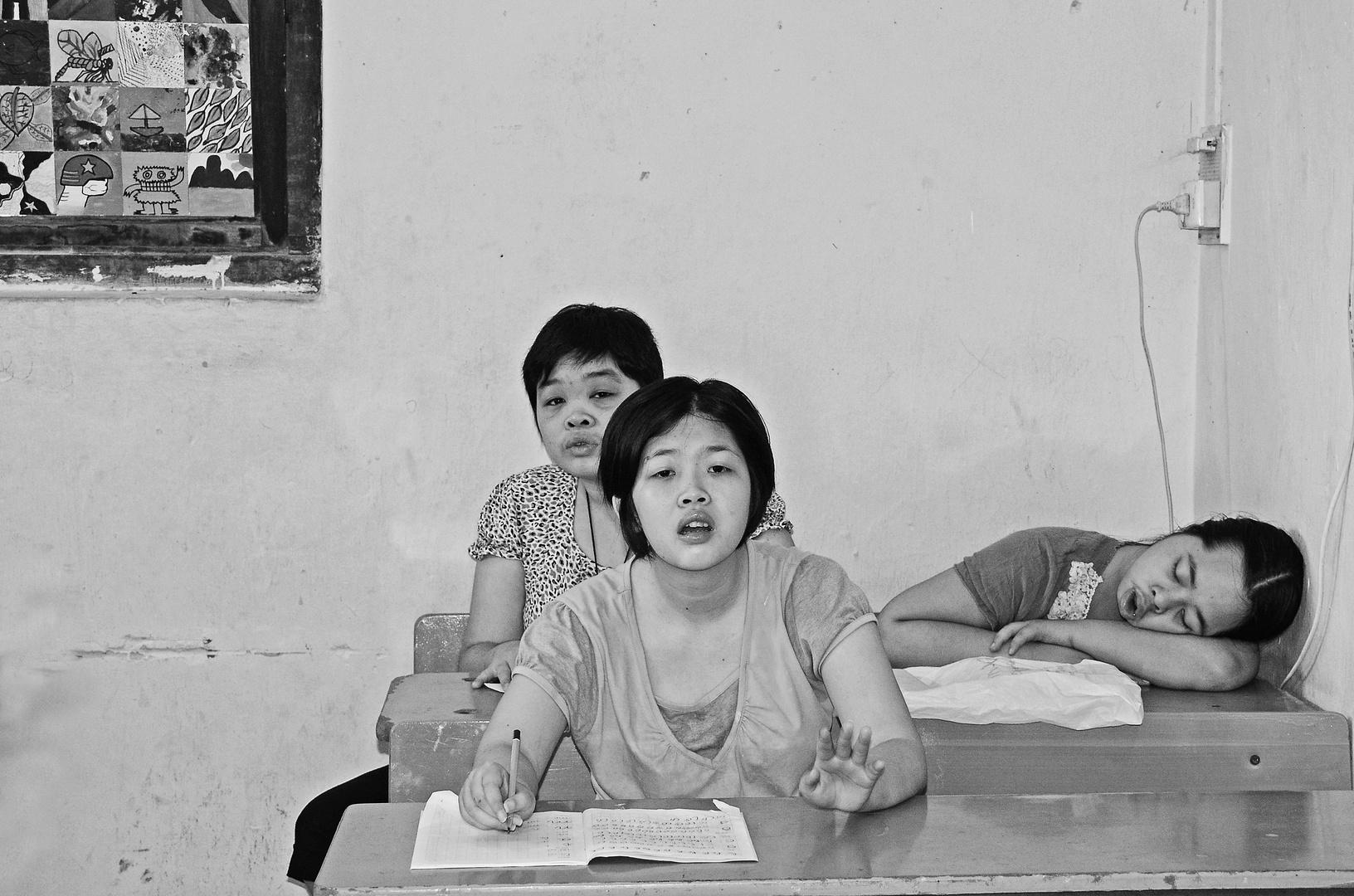 ... im Friedensdorf Hanoi 5 ...
