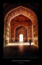 Im Gästehaus des Taj Mahal