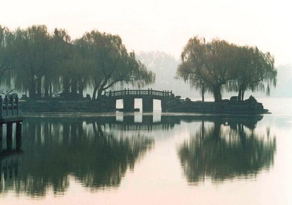 Im Garten des Sommerpalasts, Beijing