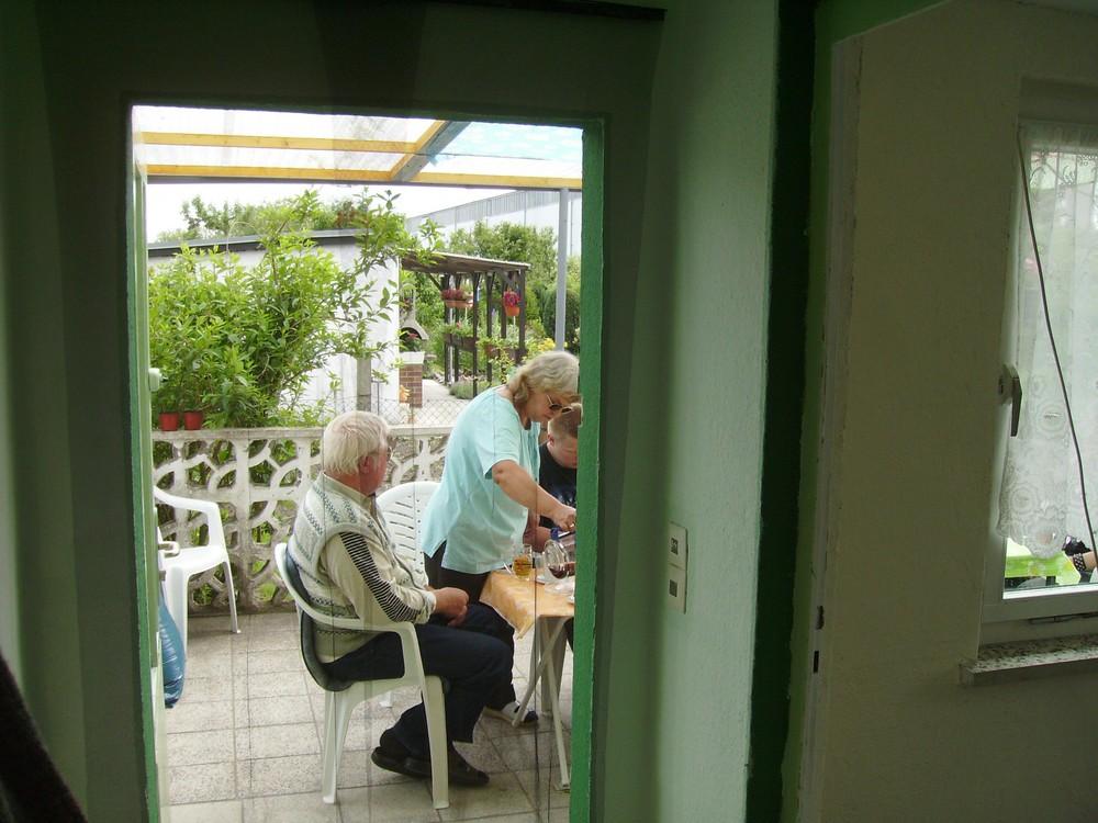 """Im Garten """"Laube"""""""