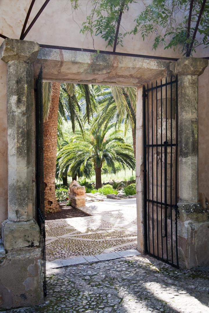 Im Garten von Alfabia , Mallorca