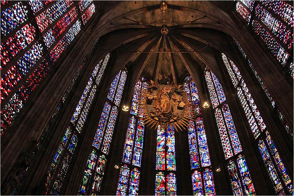 Im Glashaus von Aachen