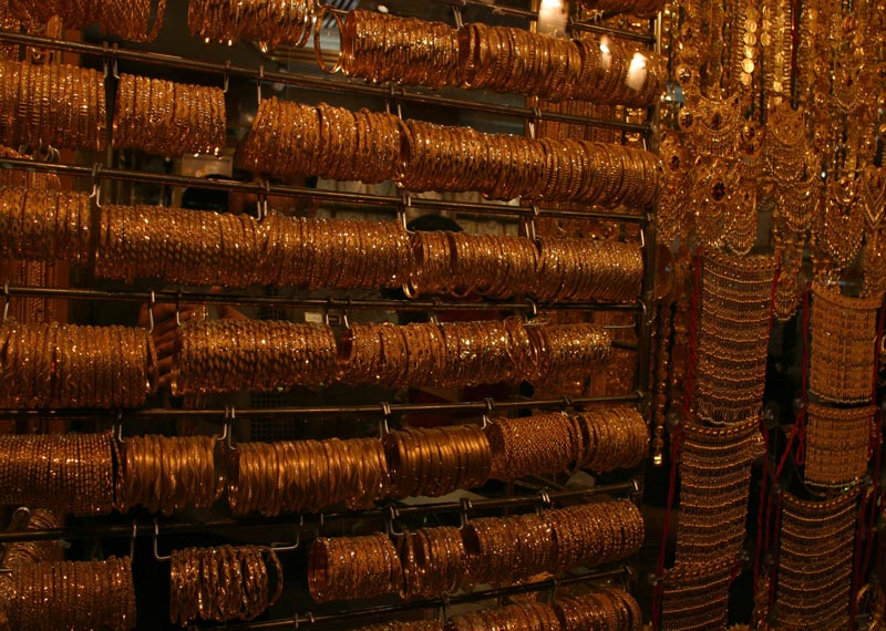 Im Gold-Souq von Dubai