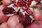 Im Granatapfel findet man einen Kern selten allein