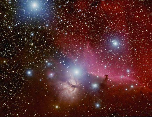 Im Gürtel des Orion
