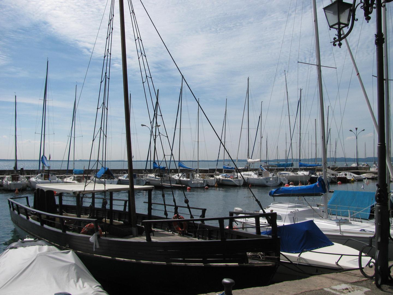 im Hafen am Gardasee-Bardolino