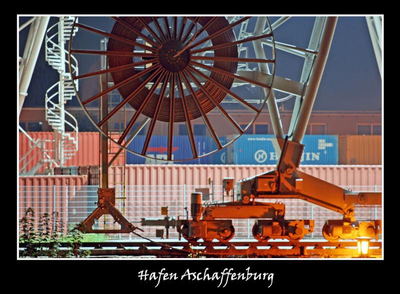 Im Hafen Aschaffenburg