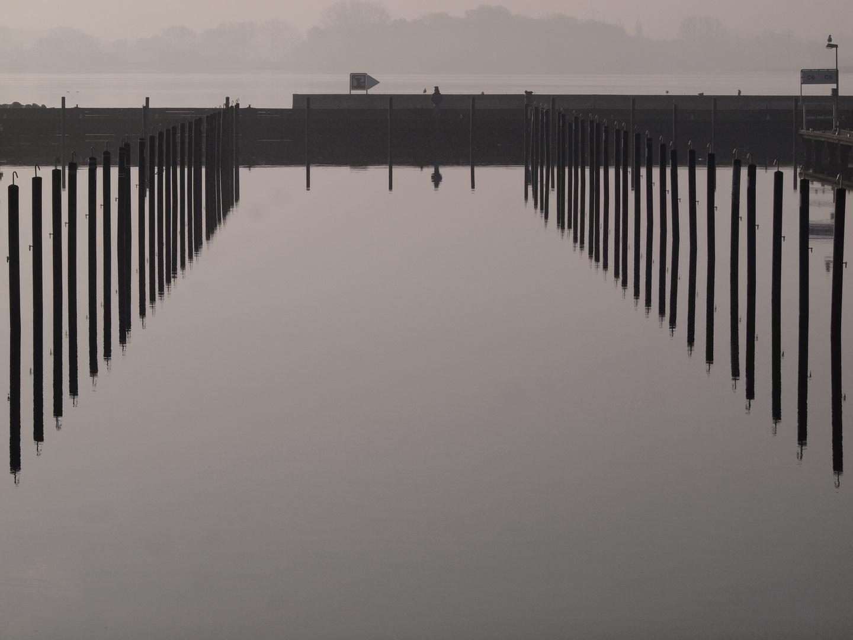 Im Hafen ..
