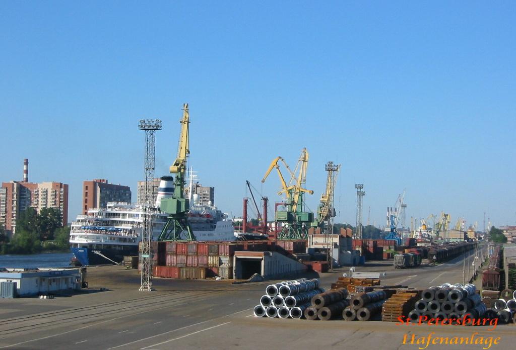 Im Hafen St-Petersburg