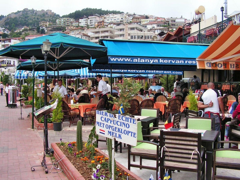Im Hafen von Alanya