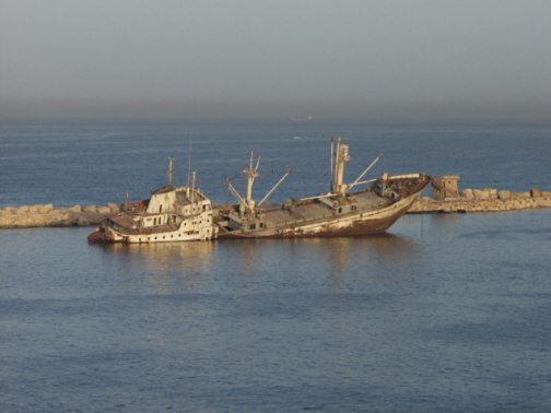 Im Hafen von Alexandria