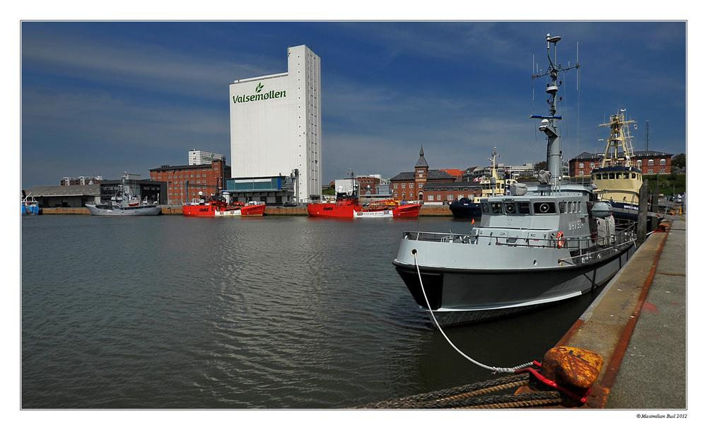 Im Hafen von Esbjerg