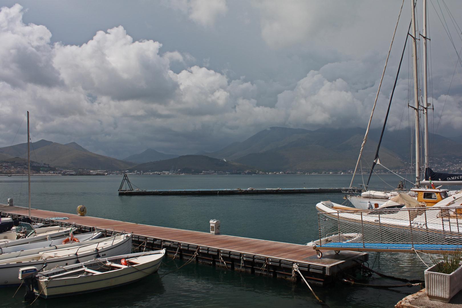 Im Hafen von Gaeta
