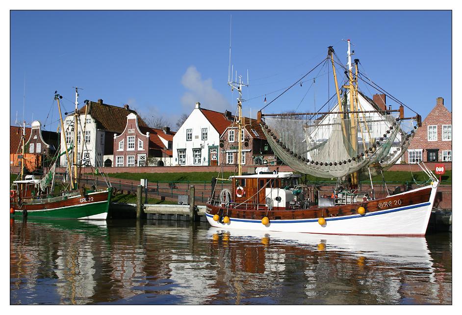 Im Hafen von Greetsiel 01 ...