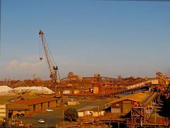 Im Hafen von Hedland