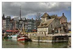 Im Hafen von Honfleur ...