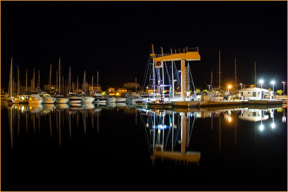 Im Hafen von Jezera