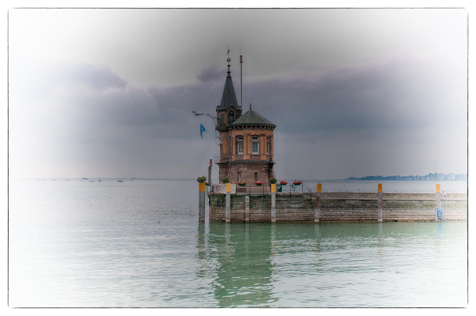 im Hafen von Konstanz