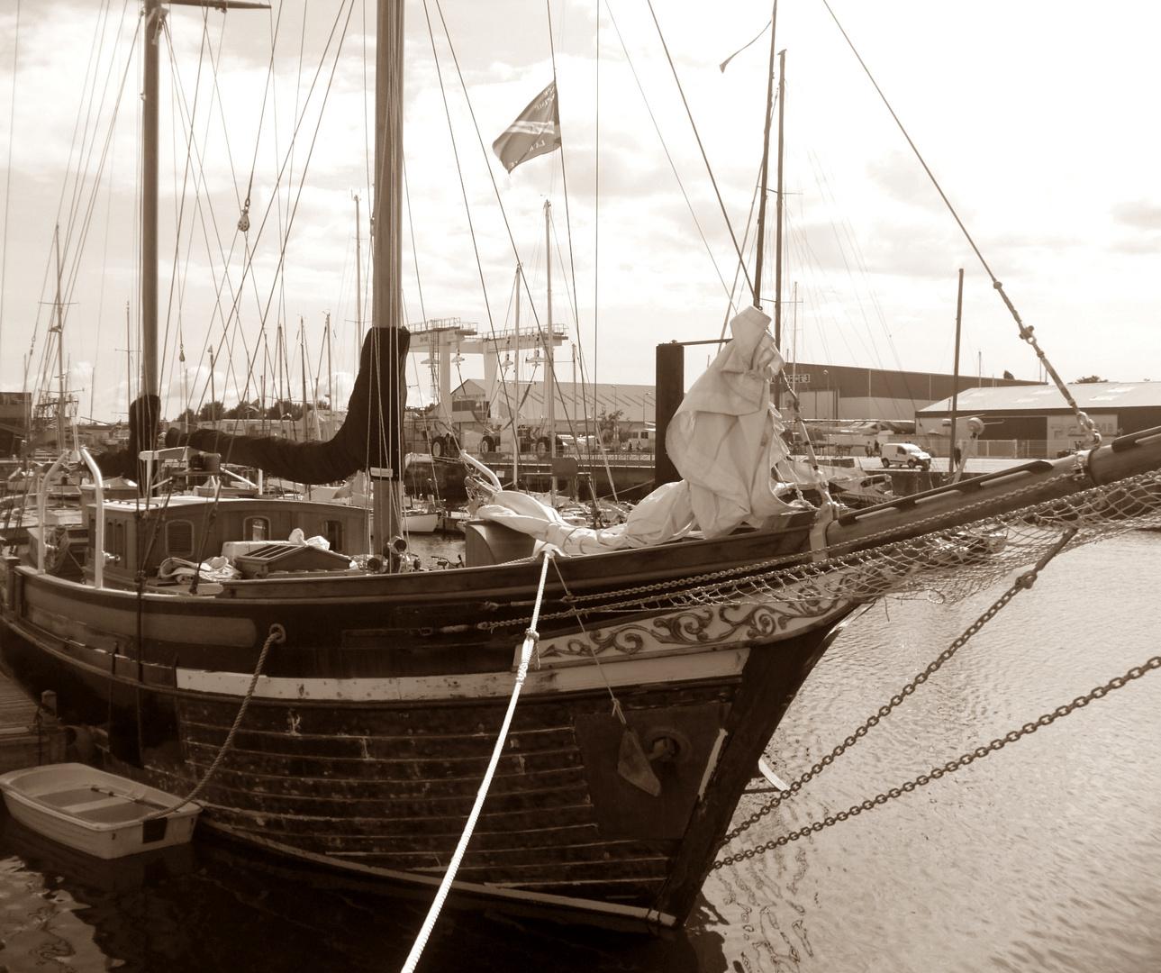 Im Hafen von La Rochelle