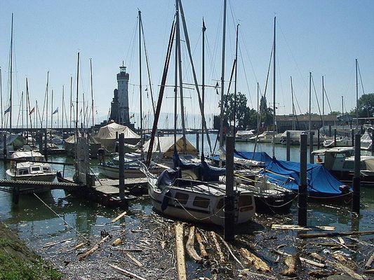 Im Hafen von Lindau