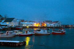 Im Hafen von Reine/Lofoten