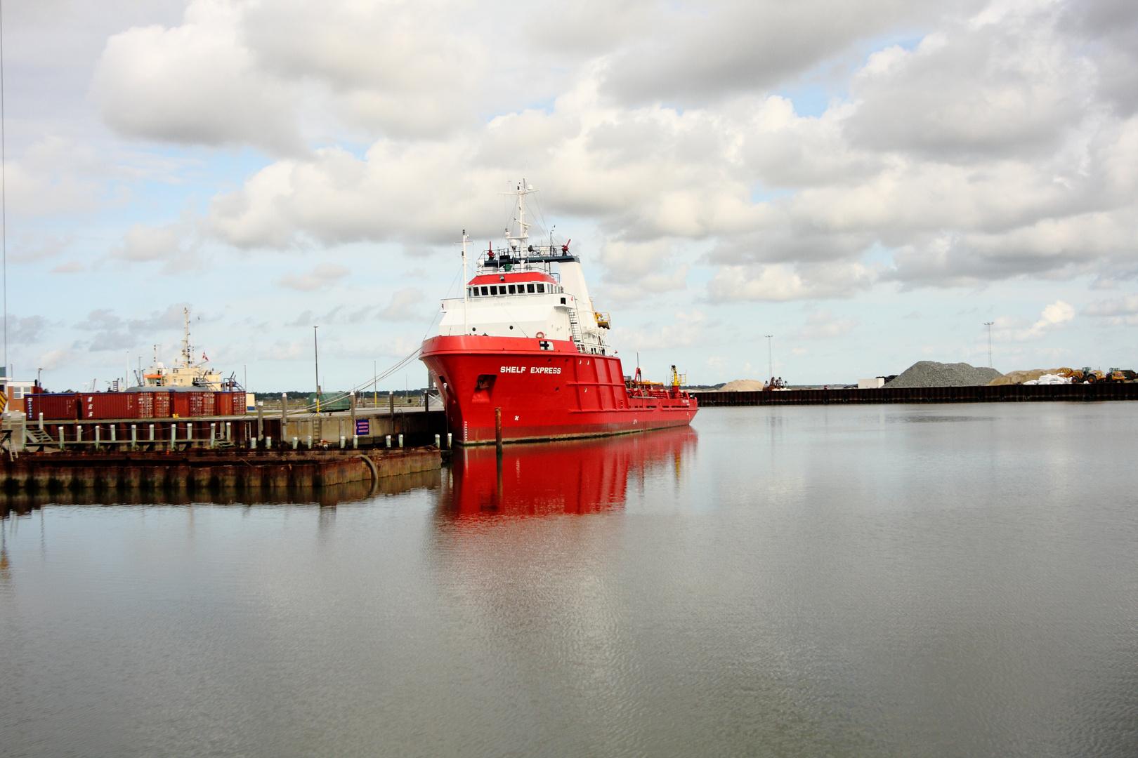 Im Hafen von Römö