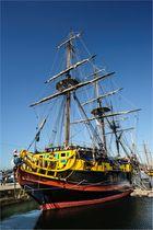 Im Hafen von Saint Malo