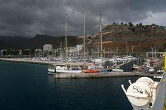 Im Hafen von San Sebastian