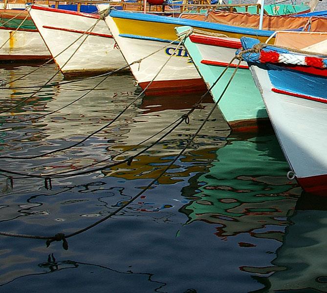 Im Hafen von Side