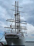Im Hafen von Stralsund . . .