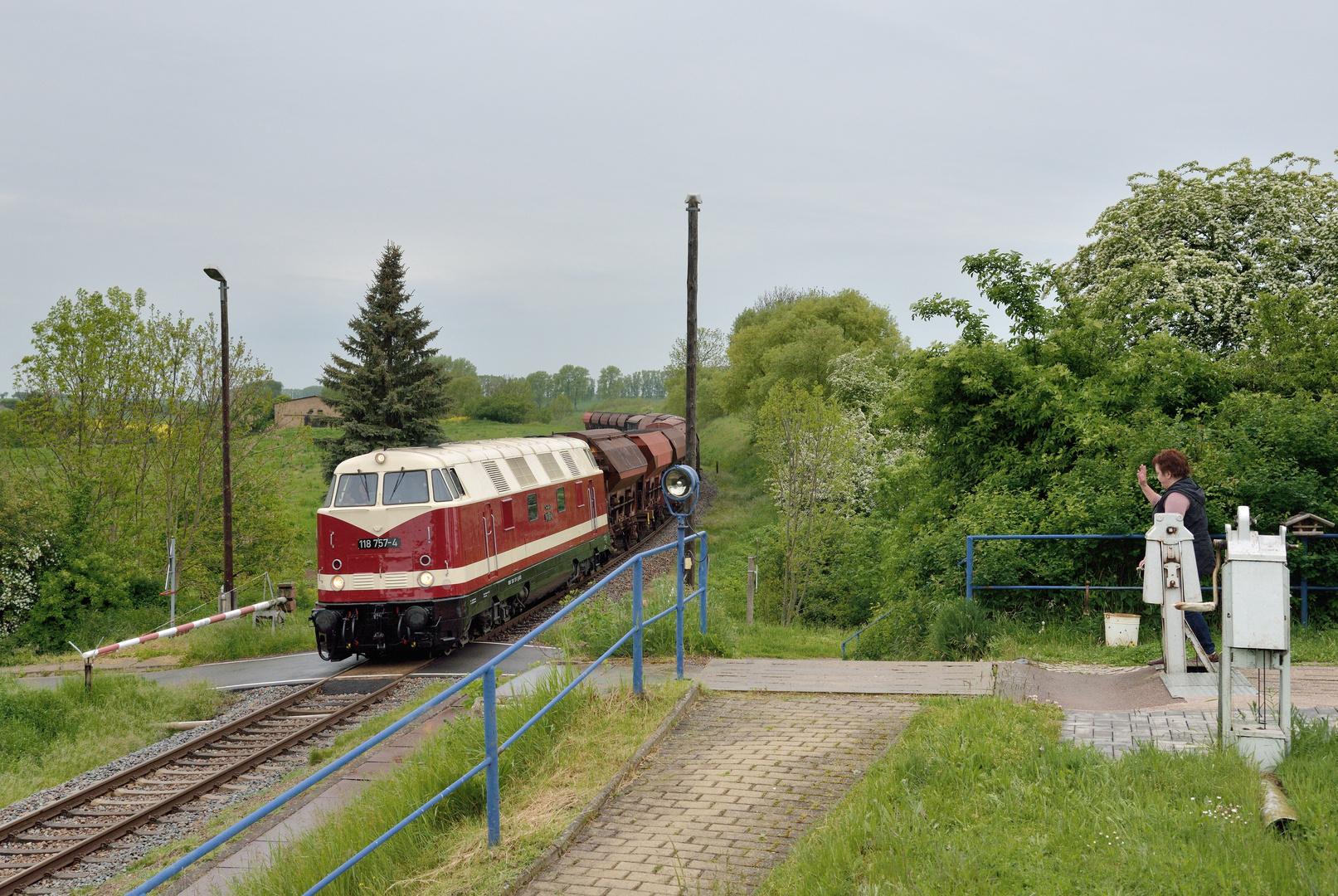 Im Haltepunkt Niederspier
