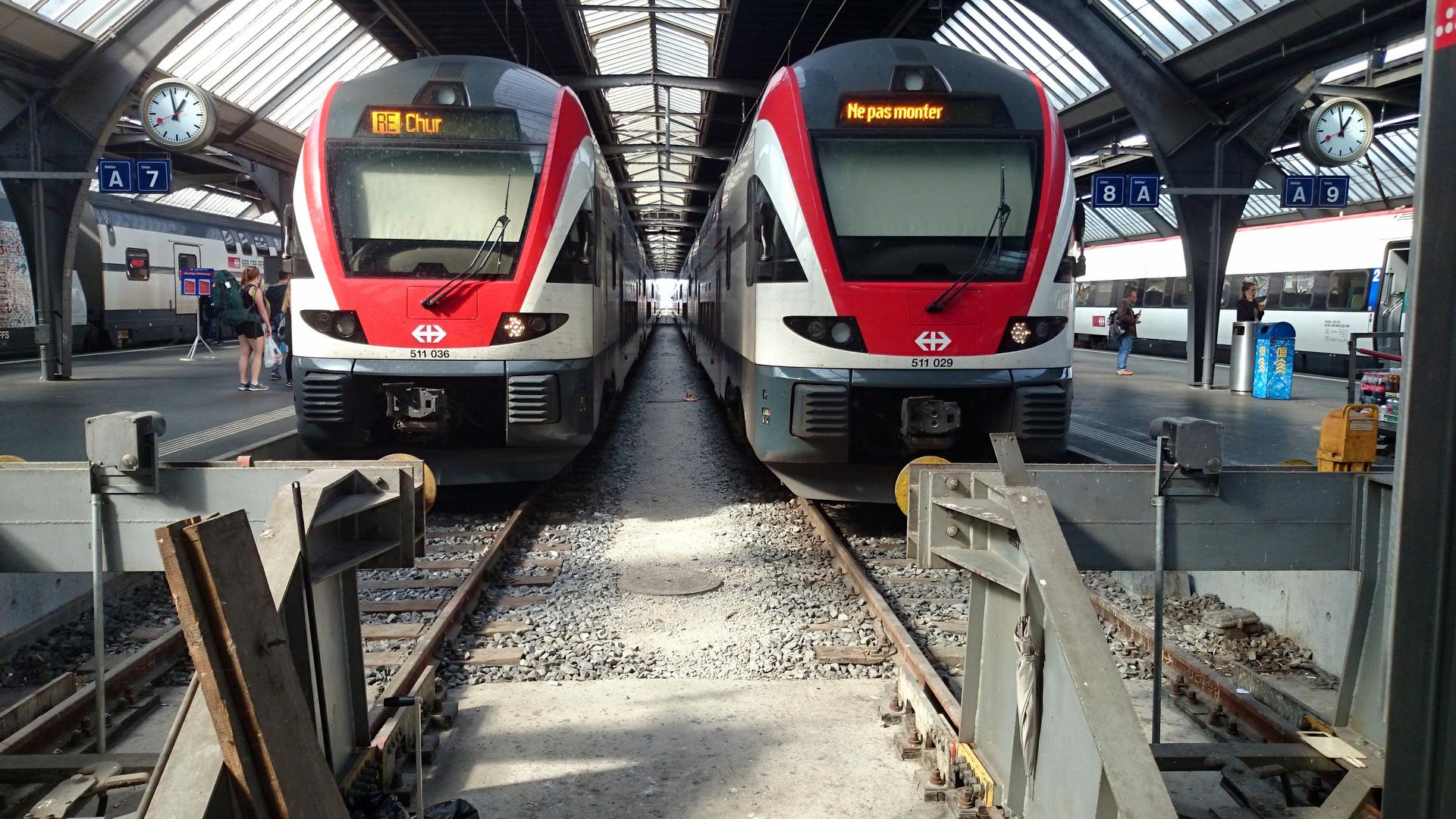 im Hauptbahnhof Zürich