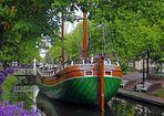 im Hauptkanal in Papenburg