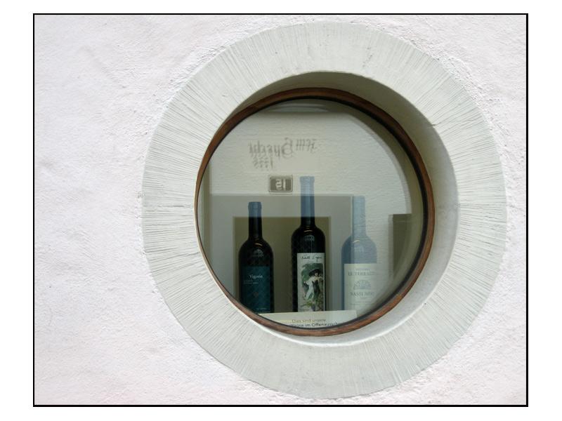 Im Haus 15 gibt's Wein...