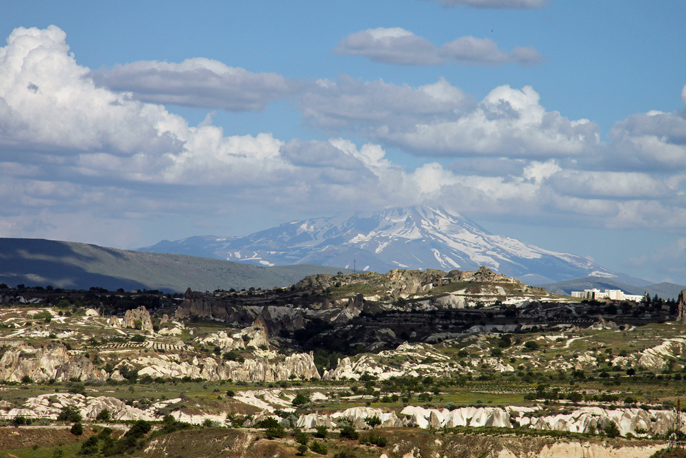 Im HG der Vulkan Erciyes...