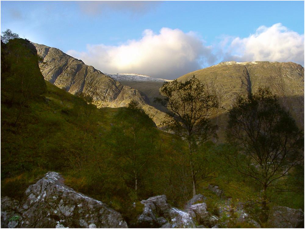 Im Highland von Schottland, in der Nähe von Fort William.